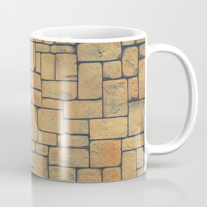 Masonry Stone Cladding Wall Coffee Mug