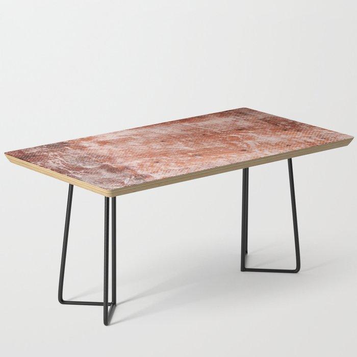 Repaired Fiberglass Shipboard Coffee Table