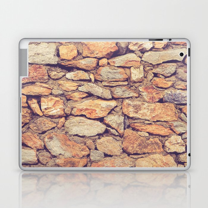 Rocky Stone Masonry Cladding Laptop & iPad Skin