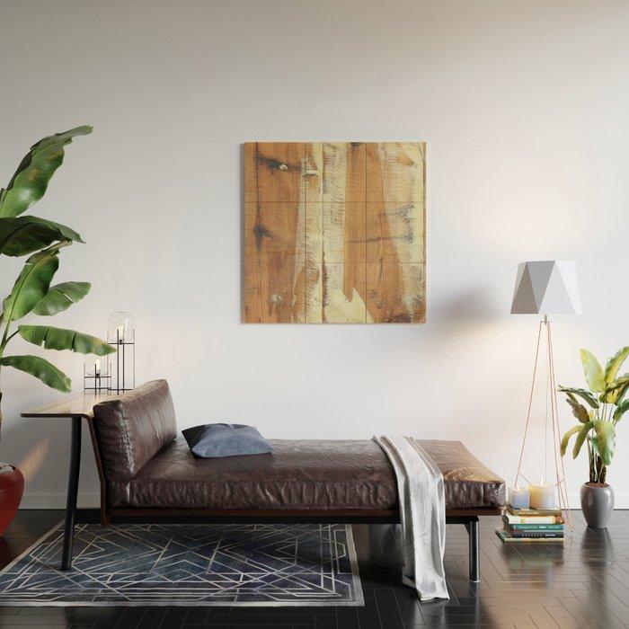 Wood Planks Shipboard Wood Wall Art