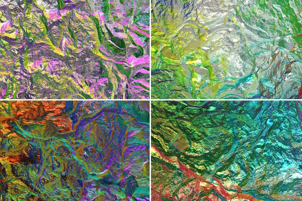 Chameleon Rock Texture Background Preview Set 2