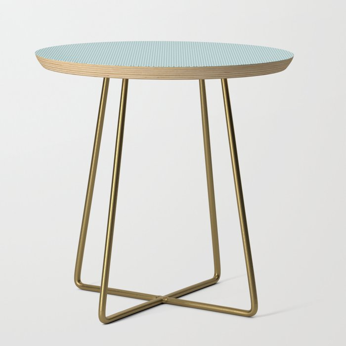 Blue Seigaiha Pattern Side Table