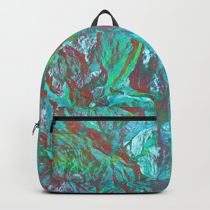 Holographic Gradient Backpack