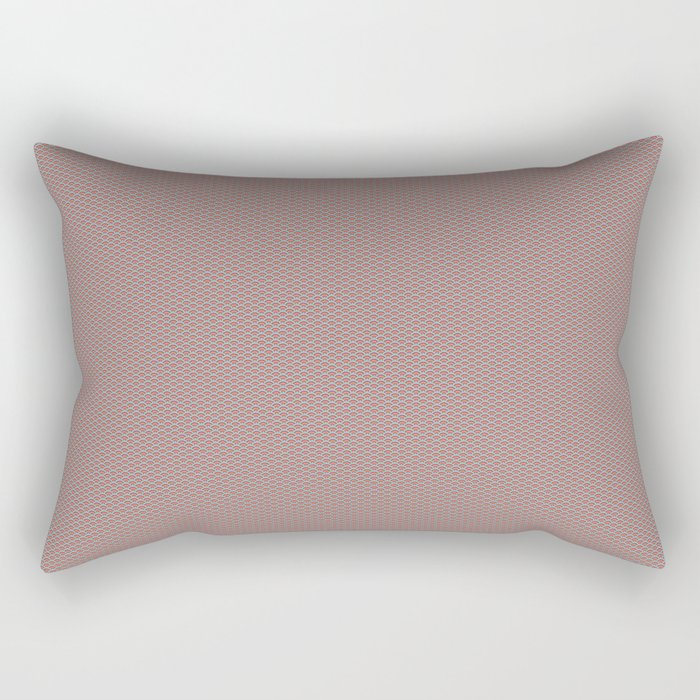 Seigaiha Pattern Rectangular Pillow
