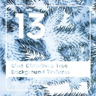 13 Blue Christmas Tree Backgrounds