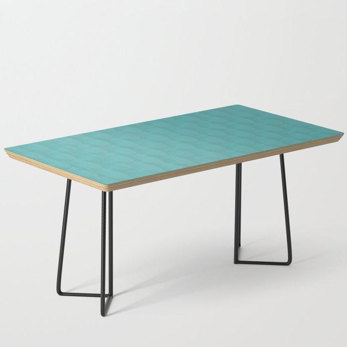 Blue art-deco vintage rings Coffee Table
