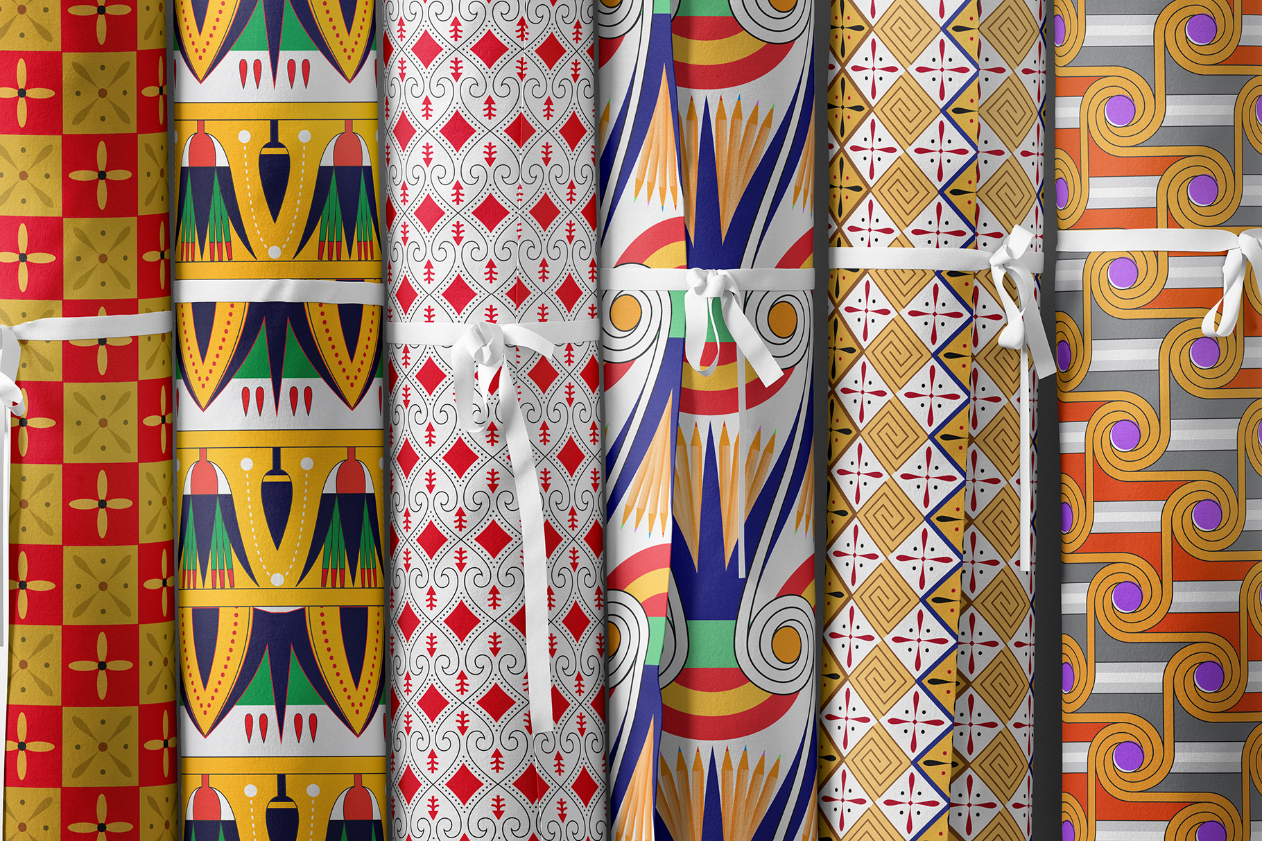 Egypt Filling Patterns Textile Preview