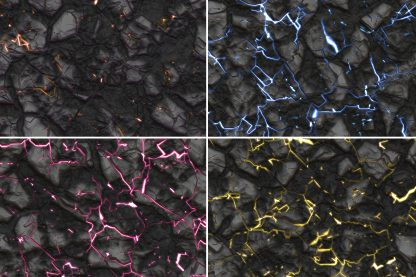 10 Energy Rock Background Textures. Seamless Transition. Preview Set 1.