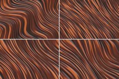 20 Liquid Curves Motion Background Textures. Seamless Transition.