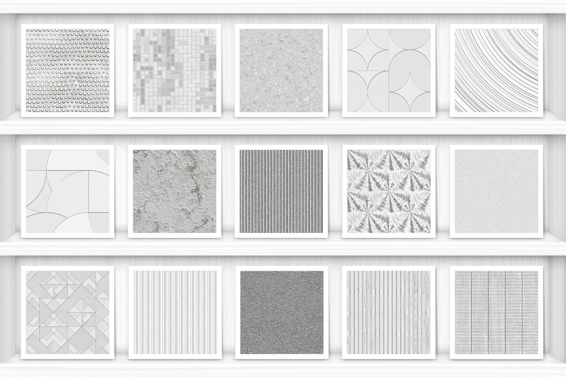 100 Silver Background Textures Preview Set 1