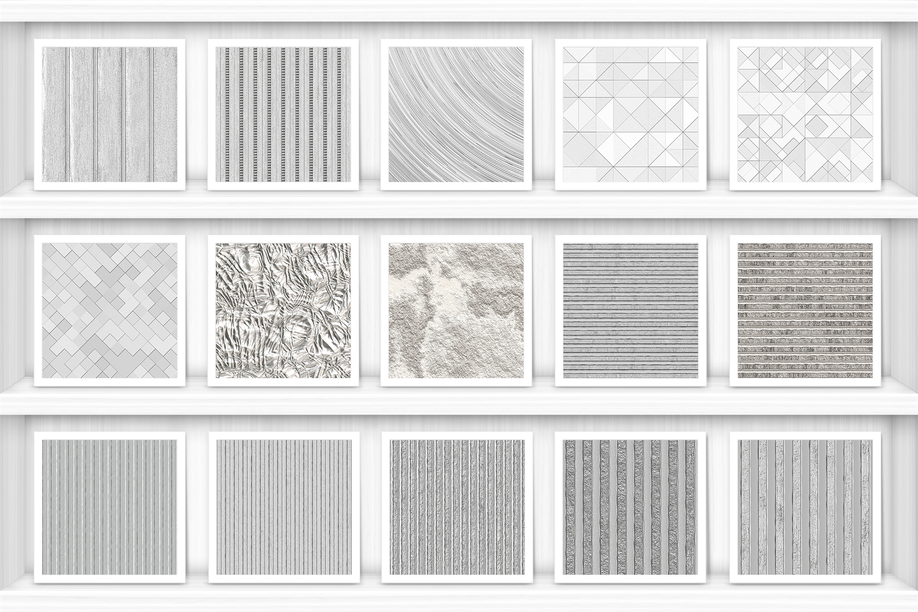 100 Silver Background Textures Preview Set 2