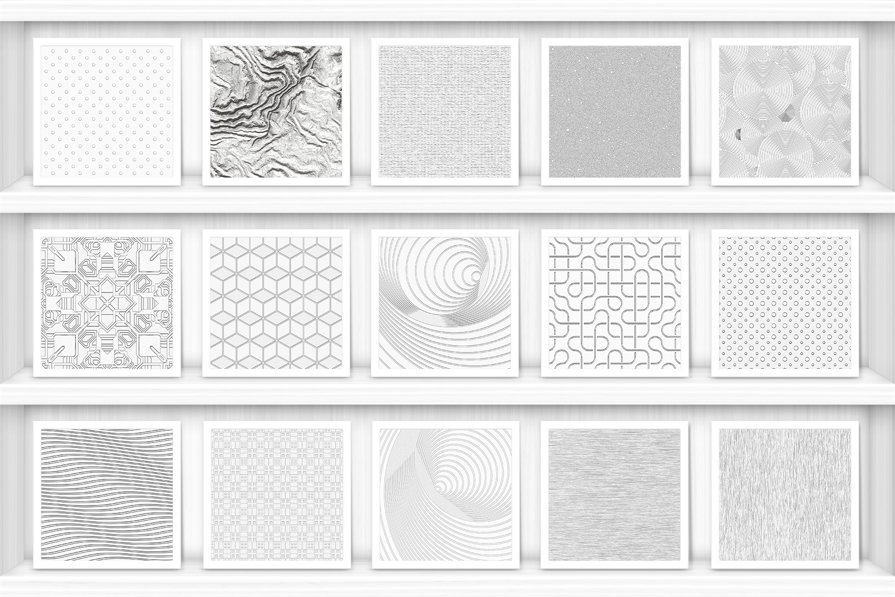 100 Silver Background Textures Preview Set 5