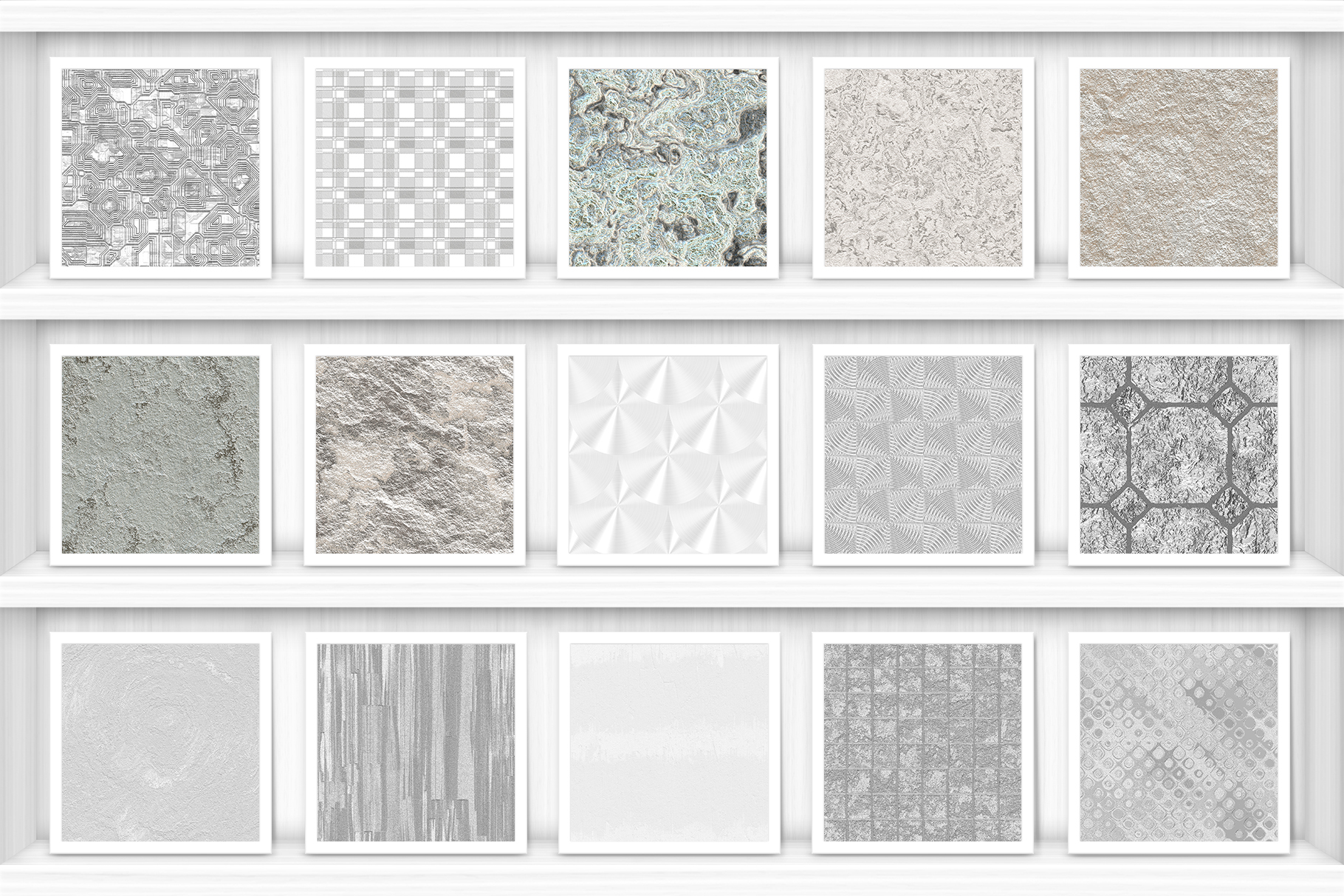100 Silver Background Textures Preview Set 6