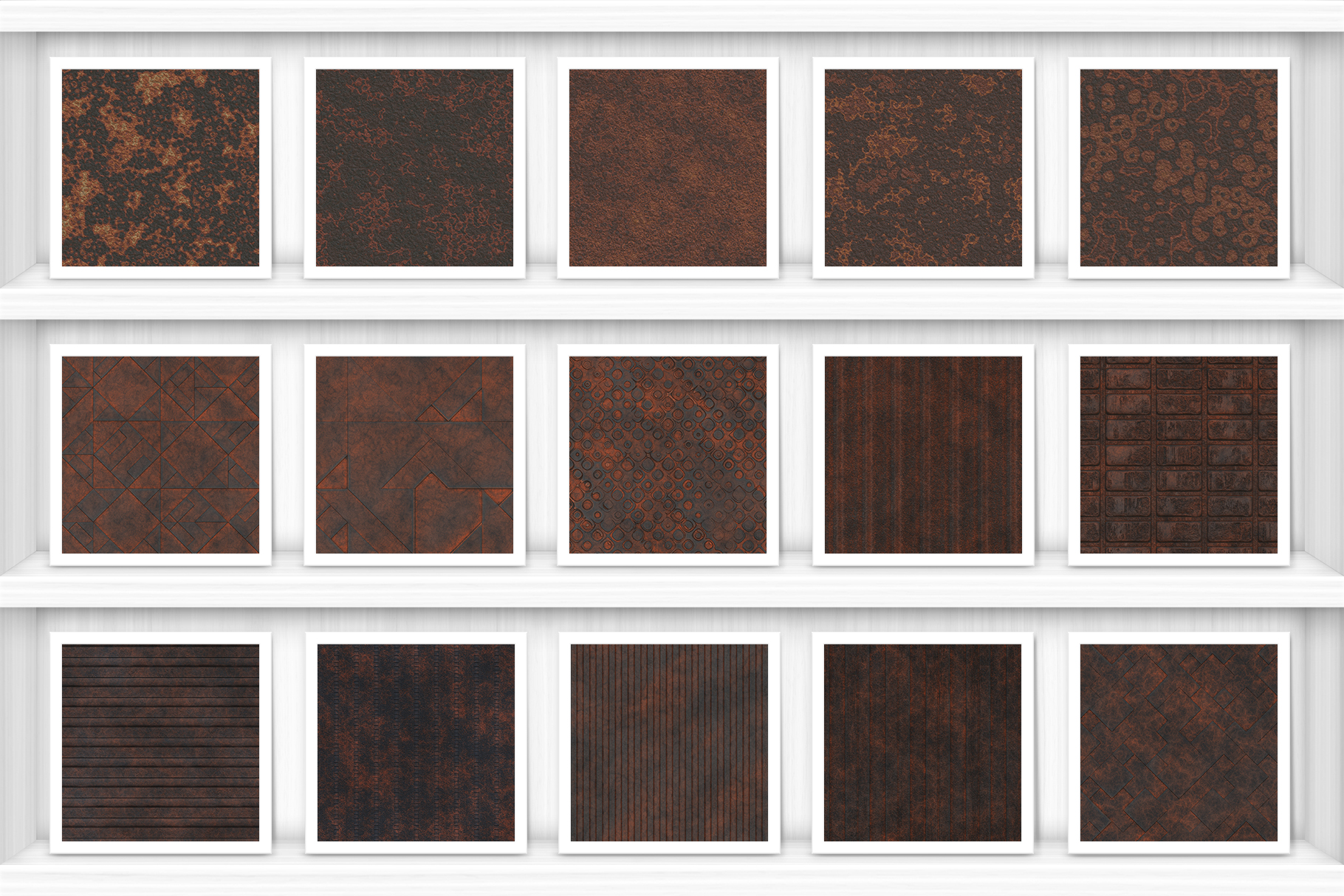 50 Rust Background Textures Preview Set 3