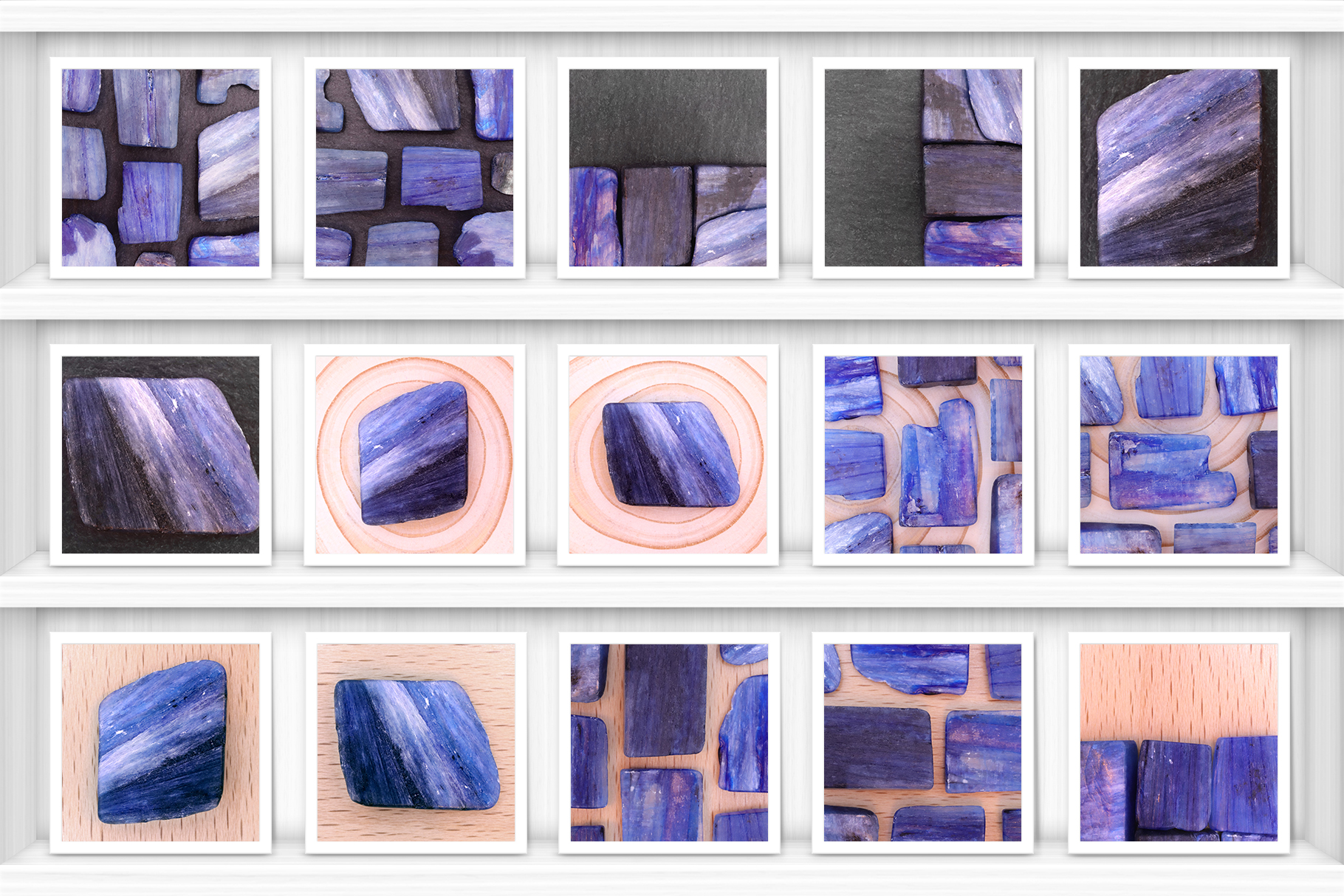 46 Kyanite Background Textures Samples Showcase Shelves Preview