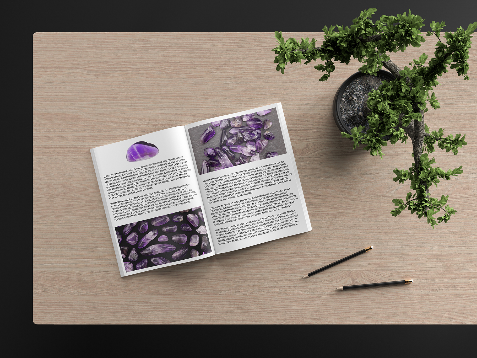 Amethyst Background Textures Book Article Preview