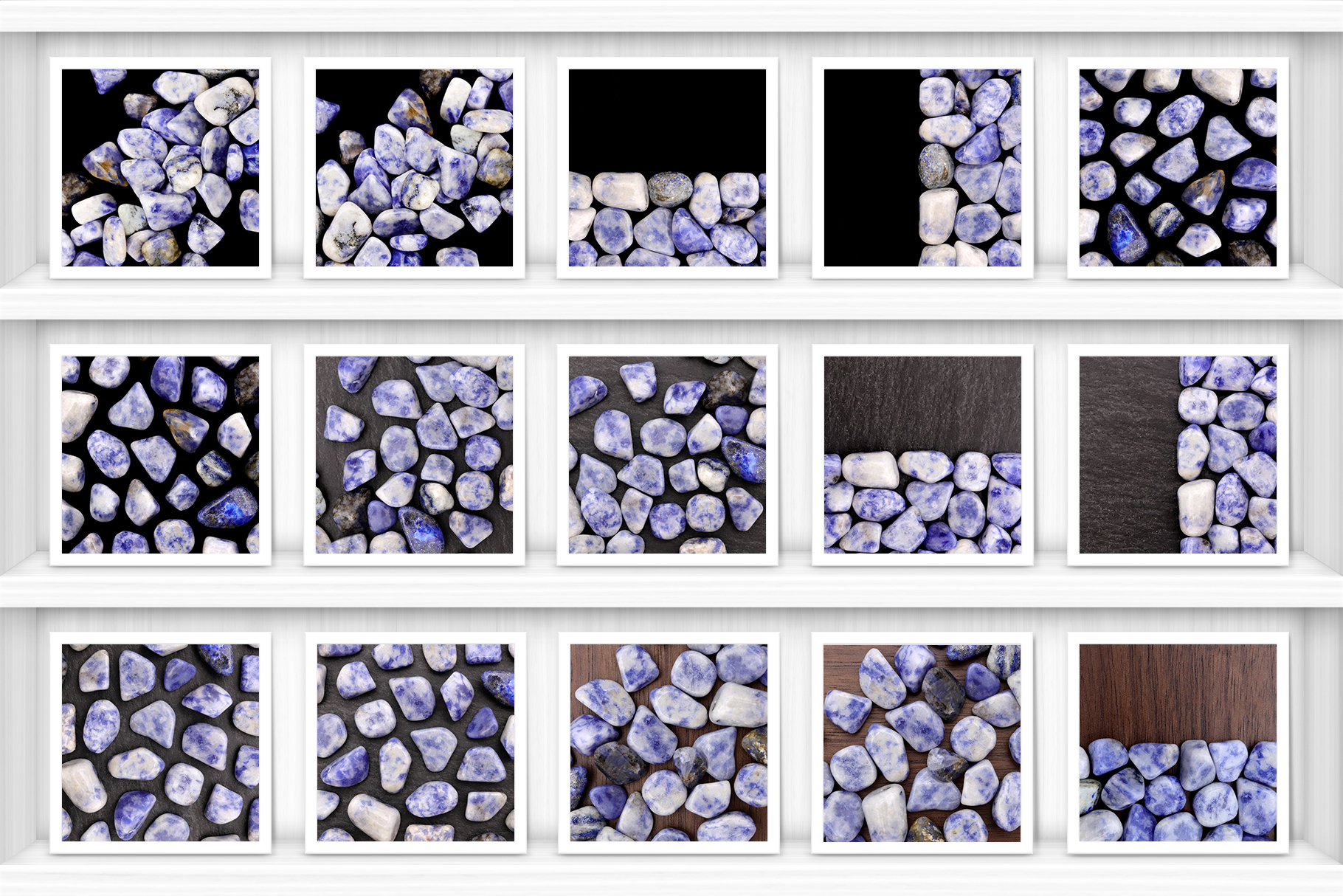 Sodalite Background Textures Showcase Shelves Samples Preview