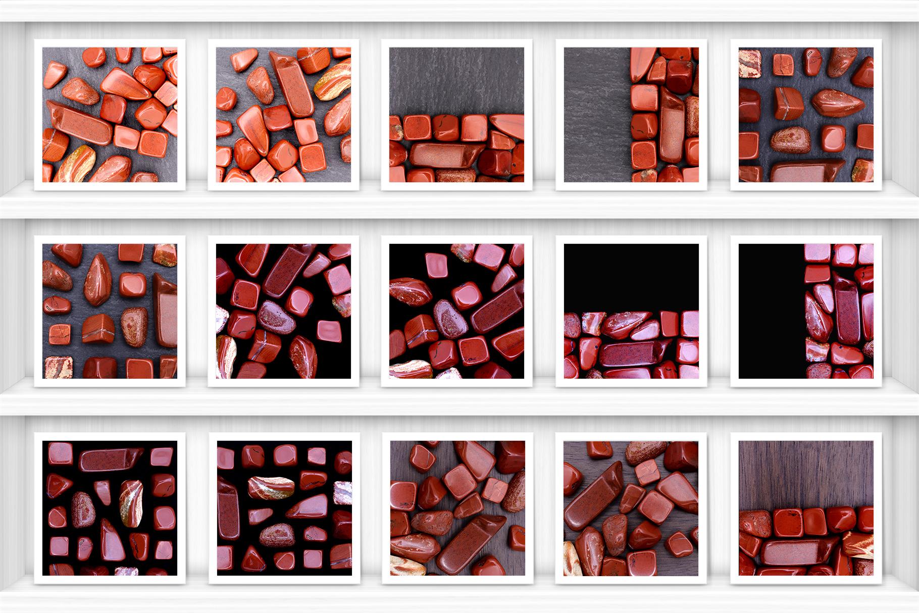 Red Jasper Background Textures Showcase Shelves Samples Preview