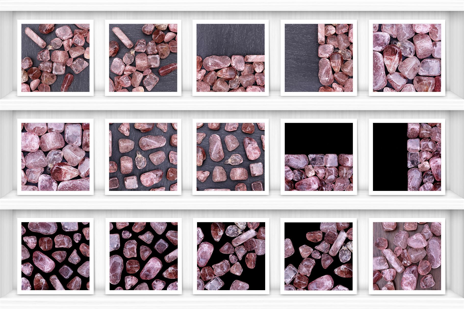 Strawberry Quartz Background Textures Showcase Shelves Samples Preview