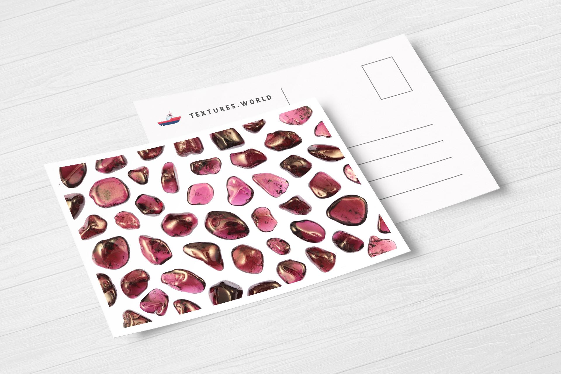 Postcard Garnet Background Textures Modern Poster Preview