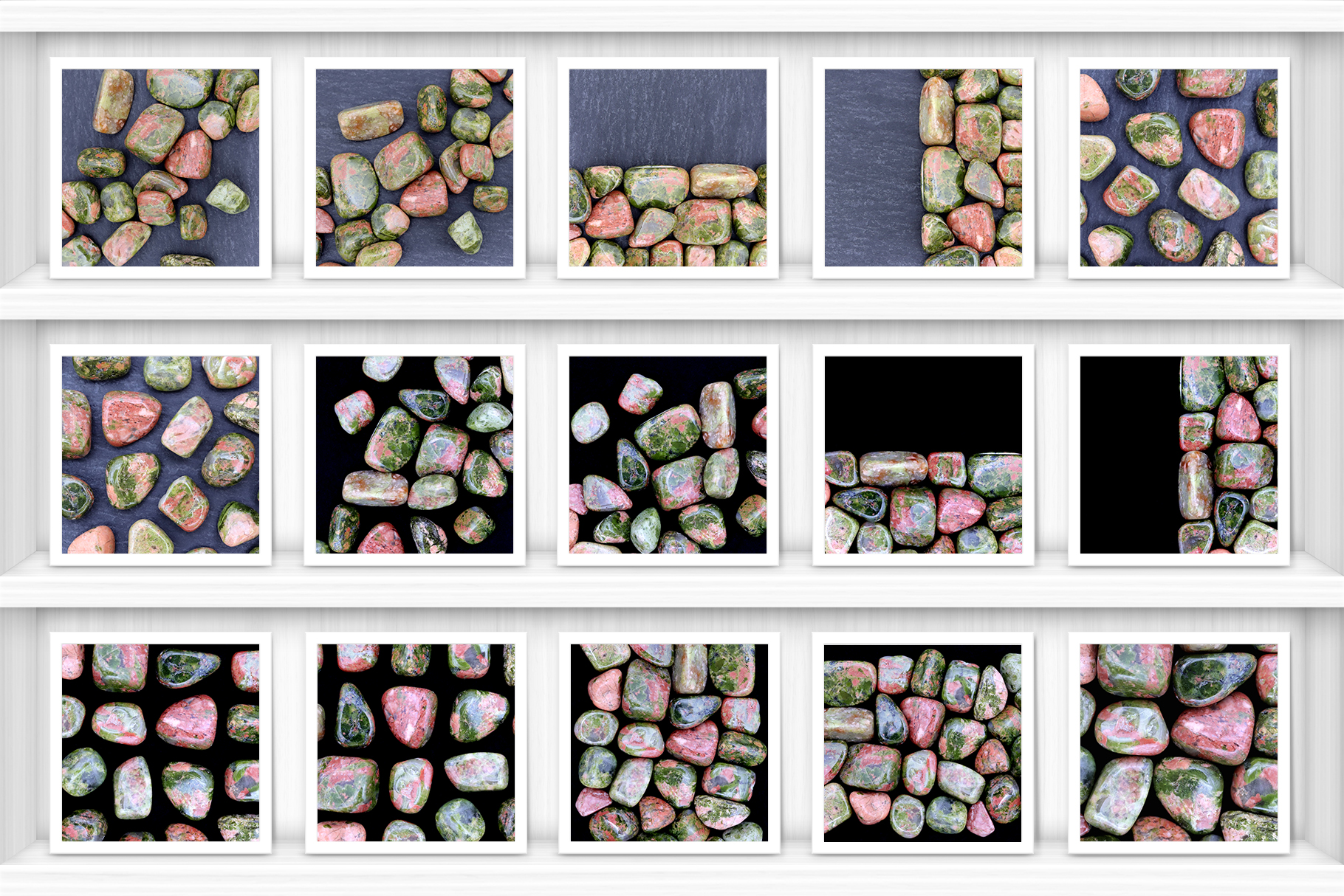 Unakite Background Textures Showcase Shelves Samples Preview