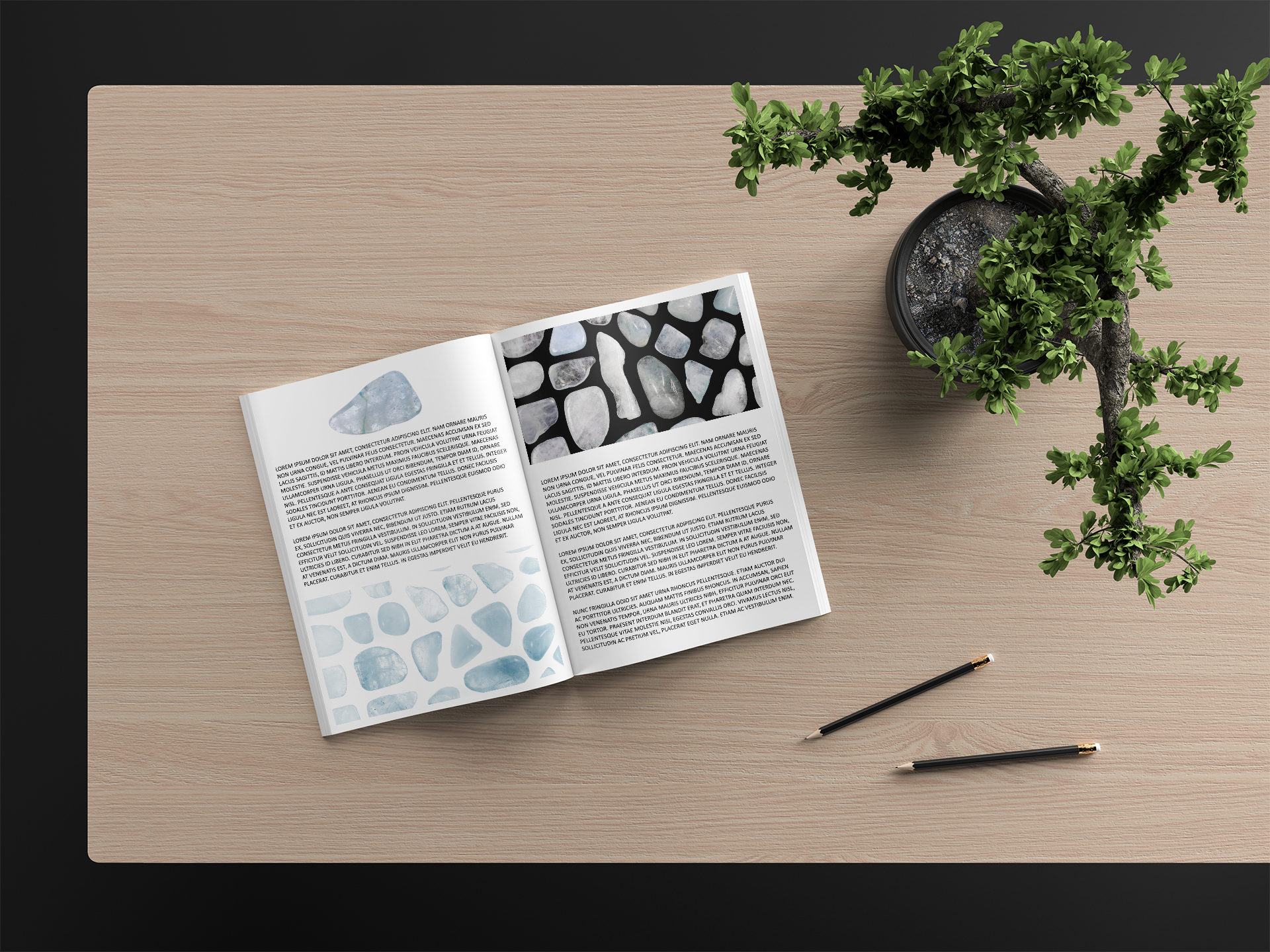 Aquamarine Background Textures Modern Magazine Article Illustrations Preview
