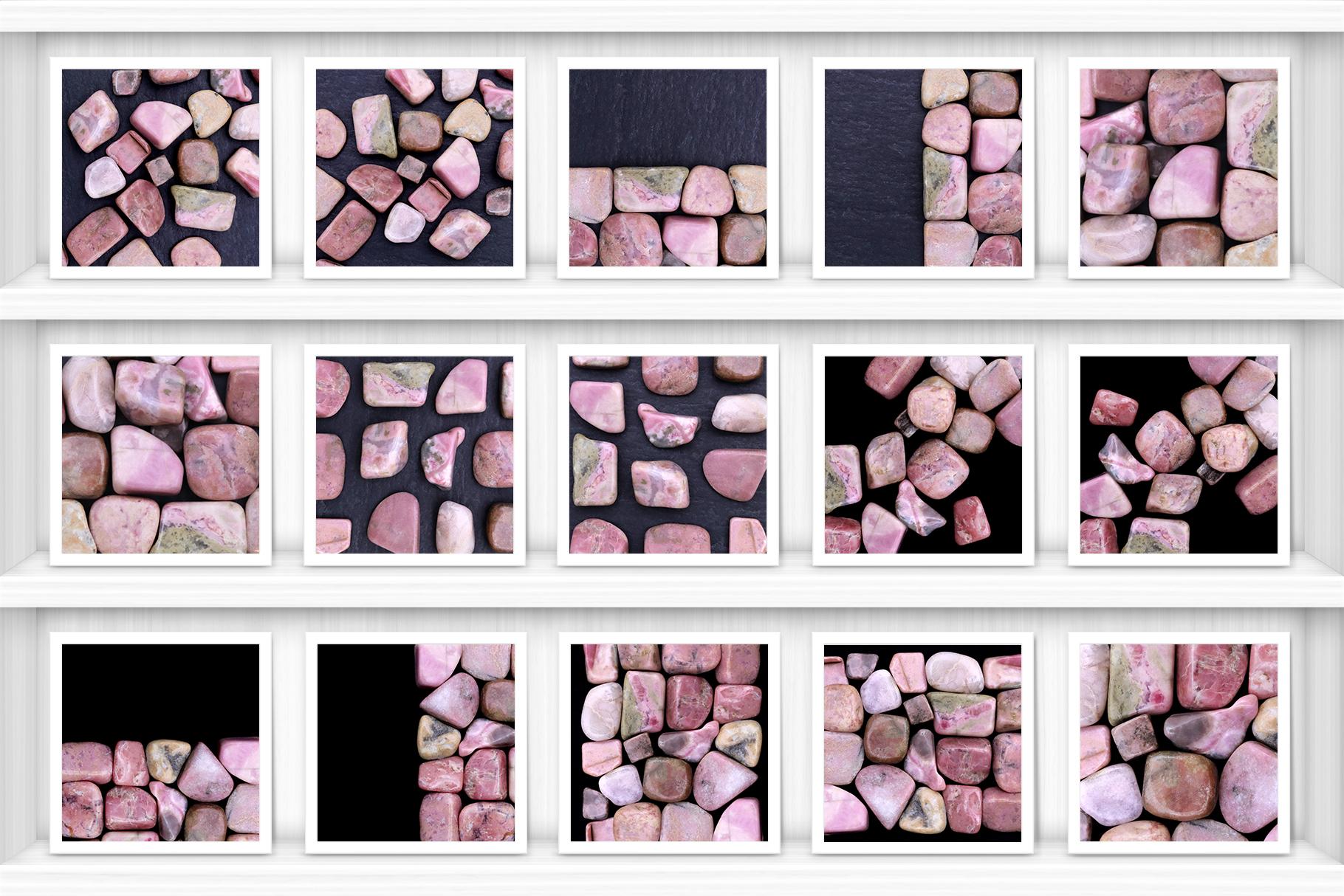 Rhodochrosite Background Textures Showcase Shelves Samples Preview