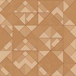 Seamless Bronze Geometric Backdrop. Bronzed Triangles Background.